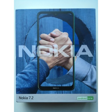 NOKIA 7.2 AndroidONE DS 4/64GB DualSim Charcoal
