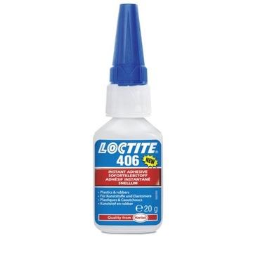 Loctite 406 Klej cyjanoakrylowy CA do tworzyw 20g