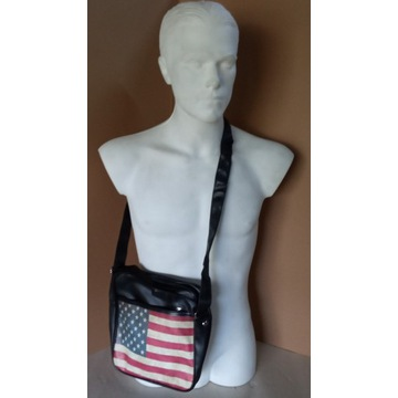 Torebka torba na ramię flaga USA