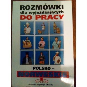 Rozmówki do pracy POLSKO-NORWESKIE
