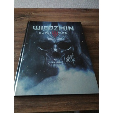Artbook Wiedźmin 3 Dziki Gon! Unikat !