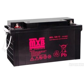OFFGRID Fotowoltaika Akumulator AGM 120Ah, model M