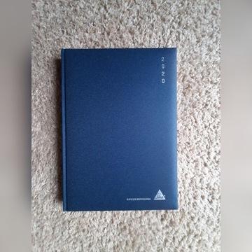Kalendarz książkowy  A4   2020