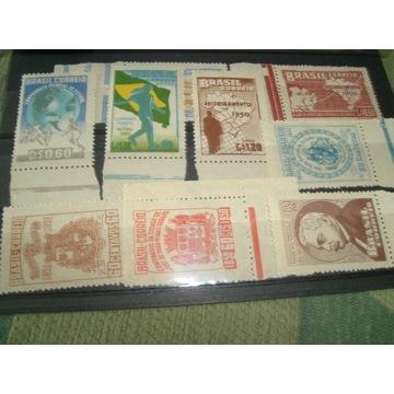 Zestaw znaczków Brazylia 1952 **