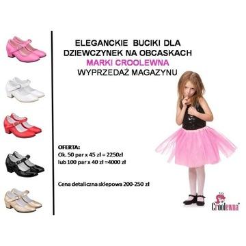 Likwidacja sklepu buty dla dzieci