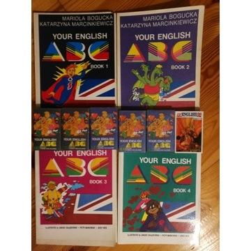 Zestaw podręczników Your english ABC + kasety