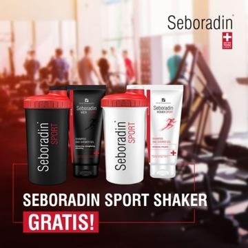 Szampon i Żel Seboradin Men Sport 2w1 + PREZENT