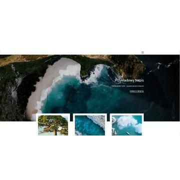 Zaprojektowanie strony internetowej (wordpress)