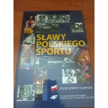 Książka Sławy Polskiego Sportu