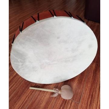 Bęben szamański obręczowy 48 cm + pałka