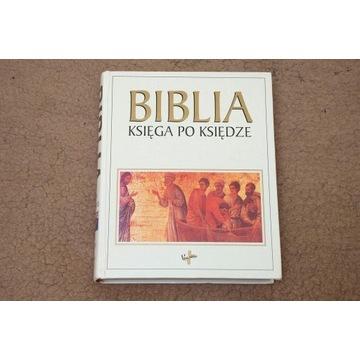 Biblia. Księga po księdze. UNIKAT !!!