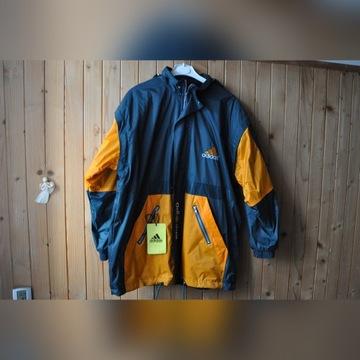 kurtka sportowa XL z kapturem,odpinane rękawy,