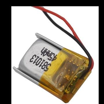 Akumulator Li-Pol 45mAh 3.7V 14x9x6mm PCM