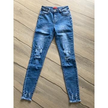 Letnie spodnie z przetarciami model 2020 BASIC