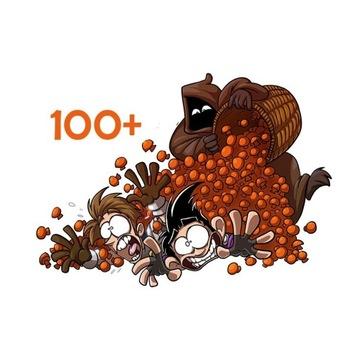 Grzybki 100+ | Shakes And Fidget |