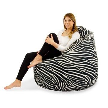 Pufa Zebra Worek Sako XL *wiele wzorów