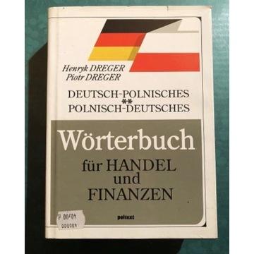 Słownik handel i finanse niemiecko-polski pol-niem
