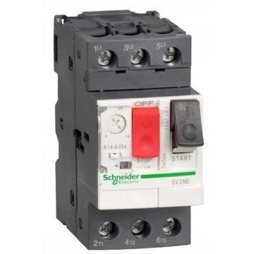 Wyłącznik silnikowy SE 3P 0,55kW 1-1,6A GV2ME06