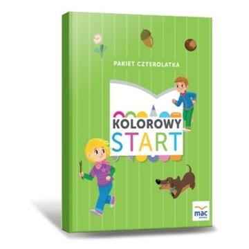 KOLOROWY START Czterolatek PAKIET BOX 4-latek