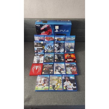 Playstation 4 1TB +19 gier