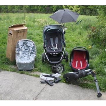 Wózek Maxi Cosi Mura 3 + gondola, fotelik i baza