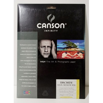 CANSON INFINITY Arches Velin Museum Rag 250 A4