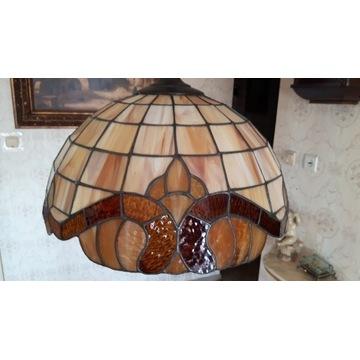 Lampa żyrandol witrażowy 40cm