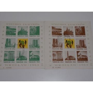 Wrocław 1963 Europejska wystawa znaczka sport.