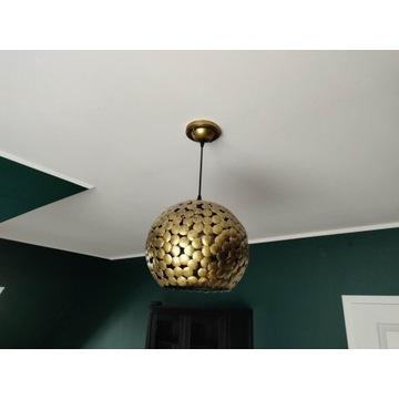 Lampa wisząca Freida stare złoto mosiądz
