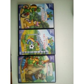 Bajki dla dzieci na płytach CD
