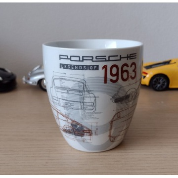Porsche legends of 1963 kubek