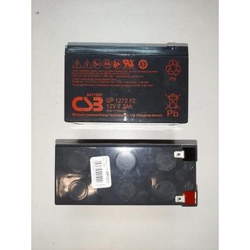 Akumulator AGM żelowy CSB GP 1272 F2 (12V 7,2Ah)