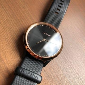 Smartwatch GARMIN Vivomove HR, różowe złoto