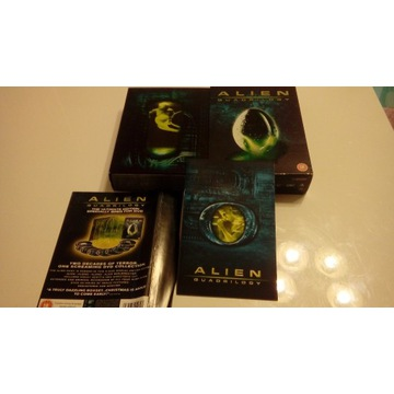 Alien quadrilogy 9 DVD
