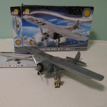 Klocki Cobi  - Samolot Spirit of St. Louis