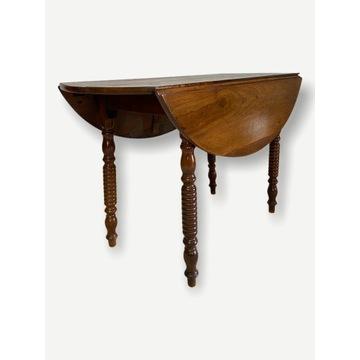 Eklektyczny stół łamany konsola Francja XIX wiek