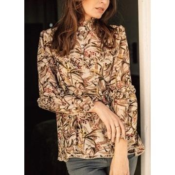 Bynamesakke koszula / bluzka beżowa NOWA, r.M