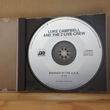 cd529. LUKE CAMPBELL AND THE 2 LIVE C ~ Singiel ~