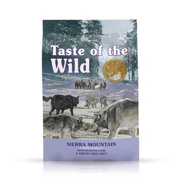 TASTE OF THE WILD SIERRA MOUNTAIN(USZK.OPAKOWANIE)