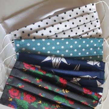 Maseczka bawełna 100% różne wzory