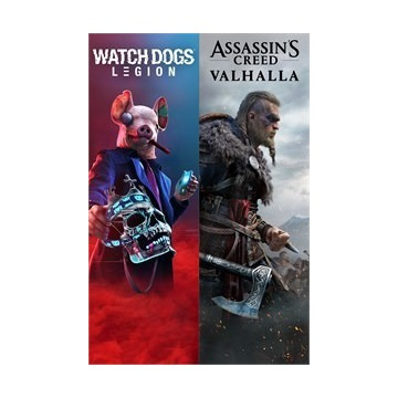 XBOX Assassin's Creed Valhalla Watch Dogs Legion