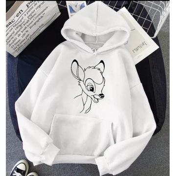 Bluza Disney postacie Bambi nowe wzory 2021 hit.