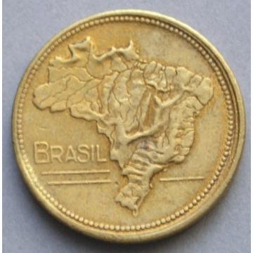 Brazylia 1 cruzeiro 1946 - mapa Brazylii