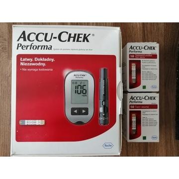 Glukometr Accu Chek Performa +60 pasków w zestawie