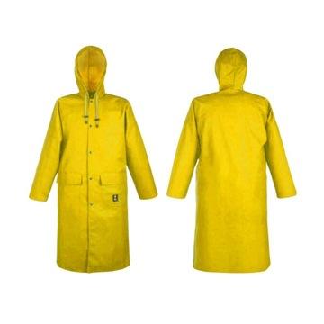 % Płaszcz przeciwdeszczowy na ryby 106 żółty XL
