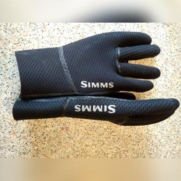 Rękawice z neoprenu, ciepłe nieprzemakalne SIMMS