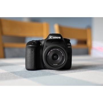 Canon EOS 80D + obiektyw Canon EF-S 24mm f2.8