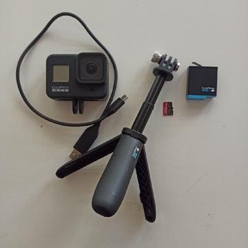 GoPro Hero 8 Black + Zestaw akcesoriów i inne