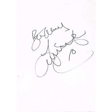autograf John Hartson Arsenal CELTIC GLASGOW Walia