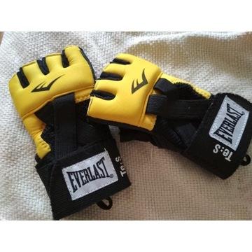 Everlast rękawice żelowe ochronne MMA KSW rozm S